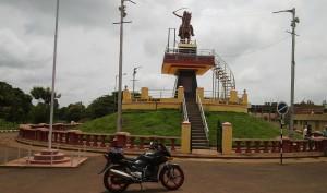 Rani Chenamma statue