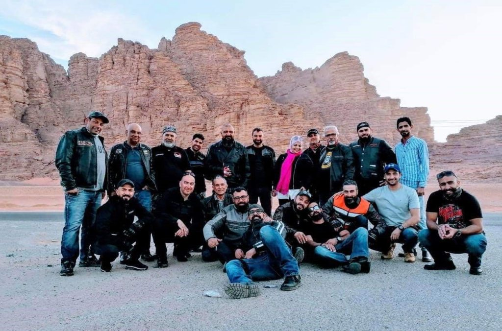 Kingdom of Jordan Endurance Ride Group November 8, 2019