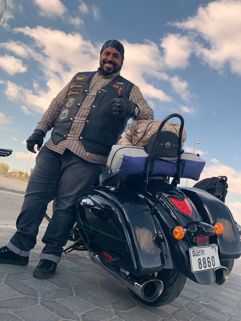 Biker Buddies Brotherhood Storm Riders King of the Road Challenge, UAE